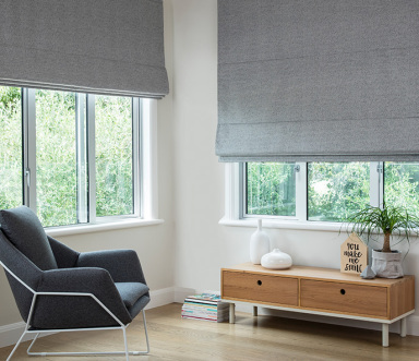 Roman Blind Coated Blockout